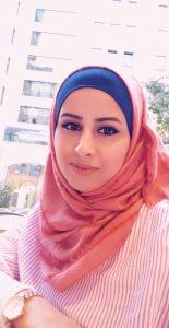 Aman Hammad från YWCA Palestina